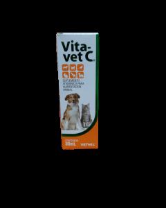 Suplemento Vitamínico para Alimentación Animal Vita Vet C 30 ML (Gotas)