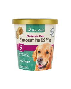 Vitaminas Masticables NaturVet Glucosamina Nivel 2 para Perros 70 tabletas