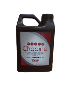 Complejo Yodado Chadine Solución Desinfectante Litro
