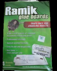 Trampa engomada para rata RAMIK