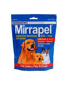 Suplemento nutricional para Perro y Gato   Mirrapel Polvo 300 gramos