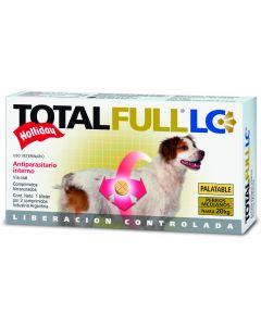 Desparasitante interno para Perro  Raza mediana Total Full 2 Tabletas