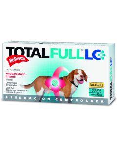 Desparasitante interno para Perro  Raza pequeña Total Full 2 Tabletas