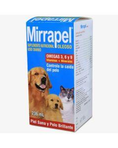 Suplemento nutricional para Perro y Gato   Mirrapel Oleoso 236 mL