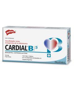 Medicamento para Perro 5 mg  CardialB 20 tabletas