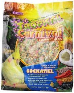 Alimento para Cacatua Tropical Carnival 3 LB