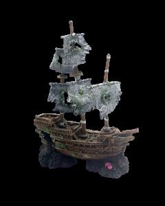 Adorno para Pecera Barco Pirata