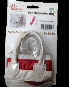 Dispensador para bolsa de desechos color rojo