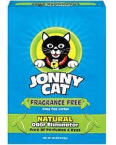 Arena para Gato  Sin olor Jonny Cat 20 lbs