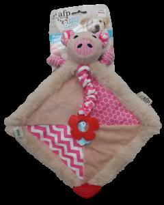 Cama para mascota con diseño de cerdito