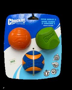 Juguete para Perro Fetch Medley Gen 2 -M -3-PACK