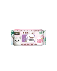 Toallitas húmedas lavanda para gatos