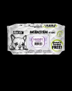 Toallitas antibacteriales olor a lavanda para perros