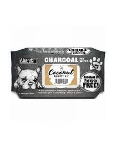 Toallitas Carbón Coco para perros