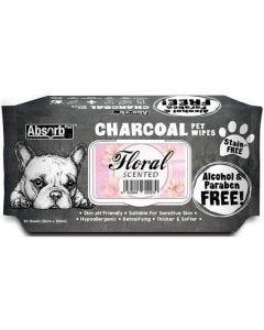 Toallitas Carbón Floral para perros