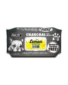 Toallitas Carbón Limón para perros