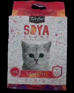 Arena Kit Cat de Soya Confeti para Gatos 7 L