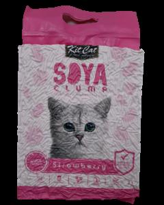 Arena Kit Cat de Soya Fresa para Gatos 7 L
