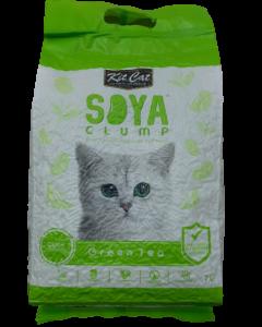 Arena Kit Cat para Gatos Soya Té Verde 7 L