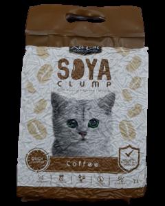 Arena Kit Cat para Gato Soya Café 7 L