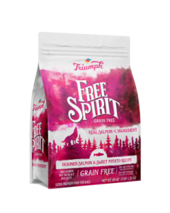 Alimento Seco para Perro  sabor salmon Triumph Grain Free 3 lbs