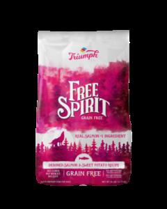 Alimento Seco para Perro  Sabor salmón Triumph Grain Free 26 lbs