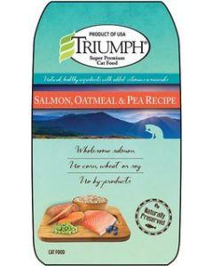 Alimento Seco para Gato  Sabor salmón y avena Triumph 3 lbs