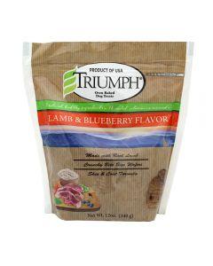 Snack para Perro sabor cordero mora  Triumph 12 oz
