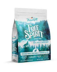 Alimento Seco para Perro  sabor pato Triumph Grain Free 3 lbs