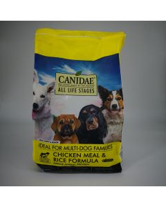 CANIDAE ALL LIFE STAGES POLLO & ARROZ 5 lbs.