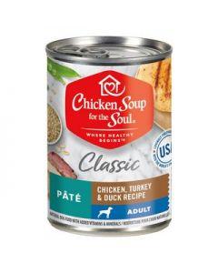 Alimento Húmedo para Perro Adulto sabor pollo, pavo y pato Chicken Soup for the Soul 369 gramos