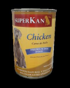 Alimento Húmedo para Perro SuperKan sabor pollo 400 gramos