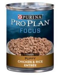 Alimento Húmedo para Perro Cachorro Sabor pollo y arroz Pro Plan 13 oz