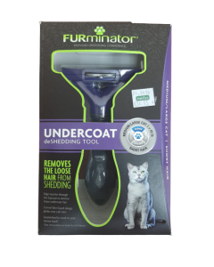 Cepillo para Gatos Pequeños Furminator Pelo Largo 3-12