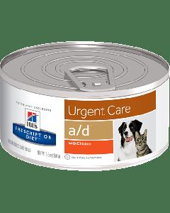 Alimento en Lata para Perros y Gatos  Hills A/D Cuidados Urgentes 5.5 Oz.