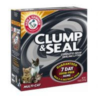 Arena para Gato Clump & Seal Multi-Cat Arm & Hammer 14 Lb