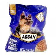 Alimento para Perro Adulto Ascan 18 Kg