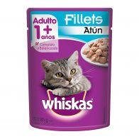 Alimento Húmedo para Gato Pouch Whiskas Sabor Atún  85 GR