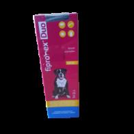 Antiparasitario para perro y gato Fipronex Duo 110ml