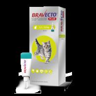 Desparasitante Externo Bravecto Plus 112.5 mg para Gato de 1.2-2.8 Kg