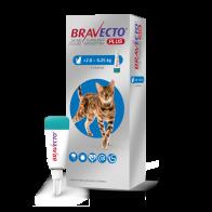 Desparasitante Externo Bravecto Plus 250 mg para Gato de 2.8-6.5 Kg