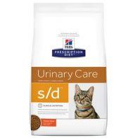 Alimento Medicado para Gato Hills S/D Cuidado Urinario 4 LB
