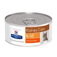 Alimento Medicado para Gato  K/D Cuidado del riñón Hills 5.5 oz