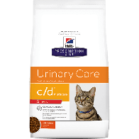 Alimento medicado para Gato c/d Multicare Hills 4 lbs