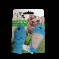 Juguete para Gatos Peces de Peluche