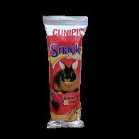 Snack cunipic para conejos de frutas
