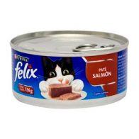 Alimento Húmedo para Gato  Sabor Salmón Felix Paté 156 gramos