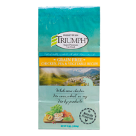 Alimento Seco para Gato  Sabor pollo y vegetales Triumph Grain Free 3 lbs