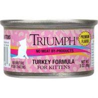 Alimento Húmedo para Gatito   Triumph 3 oz