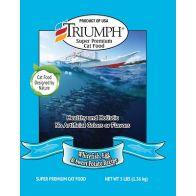 Alimento Seco para Gato  Sabor pescado blanco Triumph 3 lbs